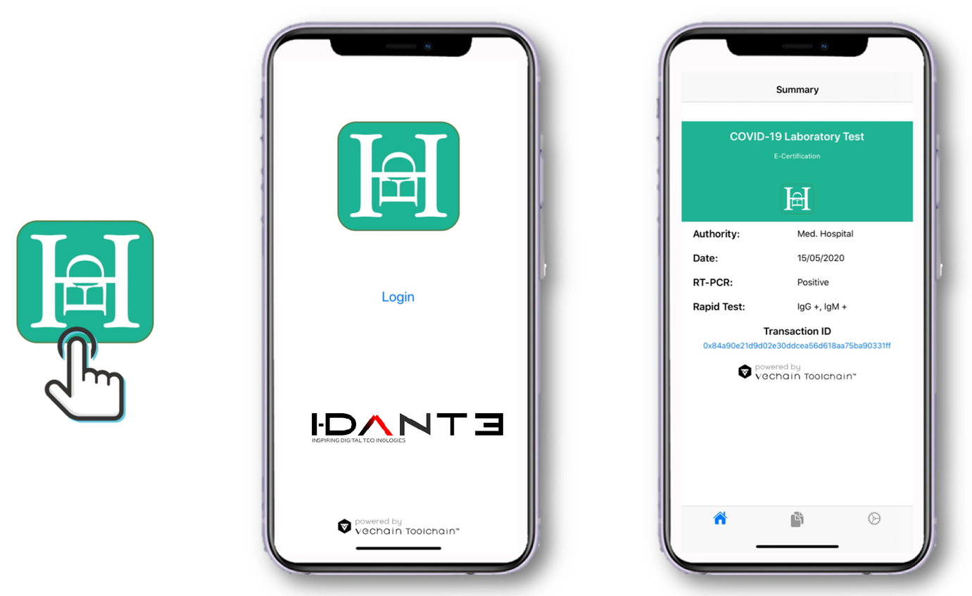 image Mediterranean Hospital of Cyprus announces the adoption of the E HCert App a COVID 19 Electronic Health Record System co developed by VeChain and I Dante to address the New Normal